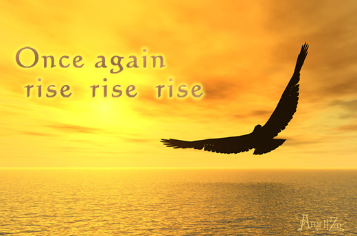 once again rise - Rumi